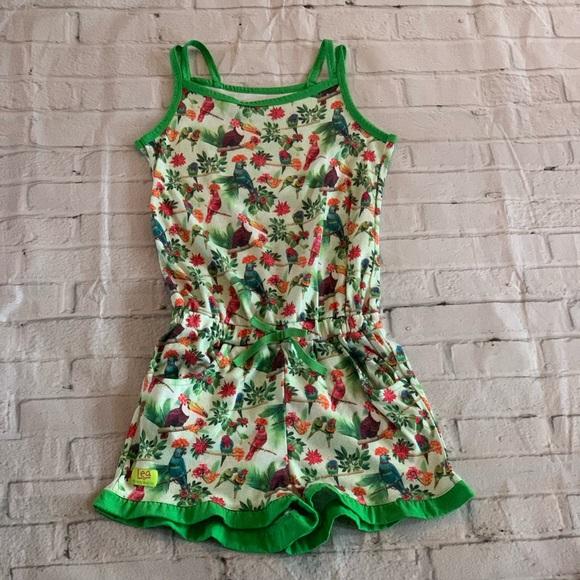 American Girl Other - American Girl Rainforest PJ Romper Size Meduim
